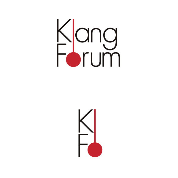 klang forum クラング・フォーラム 角田鋼亮|Identity CI Logo