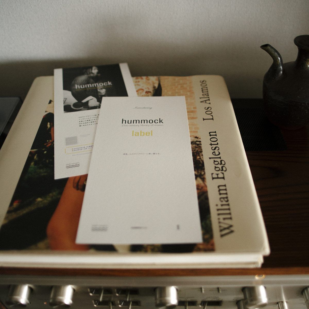 Hummock Label|21th Century Libraryof Music|Introducing Card|グラフィックデザイン ブランドデザイン|兵庫県姫路市