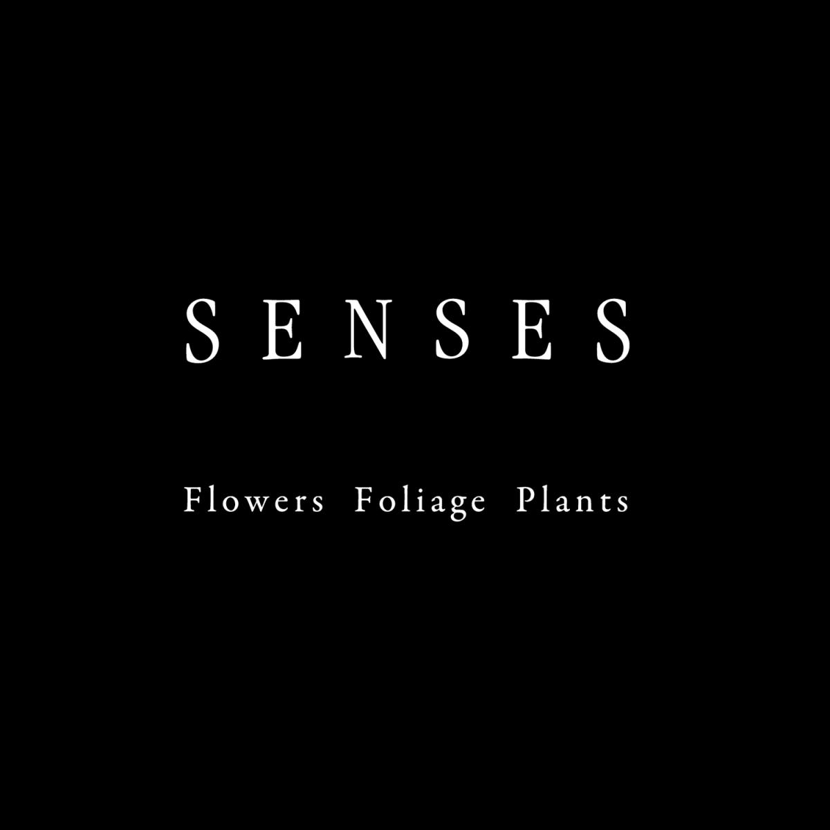 SENSES -flowers foliage plants|フラワースタジオ|CIロゴデザイン グラフィックデザイン ベーシックアプリケーション|東京都世田谷区