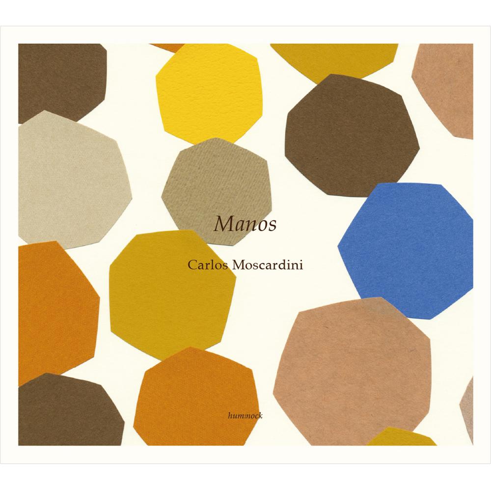 カルロス・モスカルディーニ「マノス」音楽CDアルバム|グラフィック パッケージ デザイン