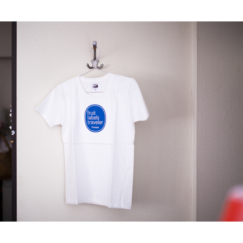 旅するフルーツシール展  Tシャツ デザイン|Fruit Labels Traveler, Tshirts