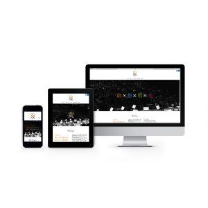 爽 ウェブサイトデザイン