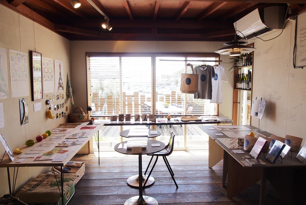 第3回 旅するフルーツシール展|HUMMOCK cafe 兵庫県姫路市|Fruit Labels Traveler