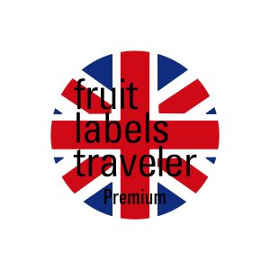 George Morrison's Trip Around the World / Calendar 2017 / Fruit Labels Traveler