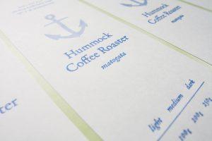 Hummock Coffee Roaster |Label Sticker|パッケージデザイン