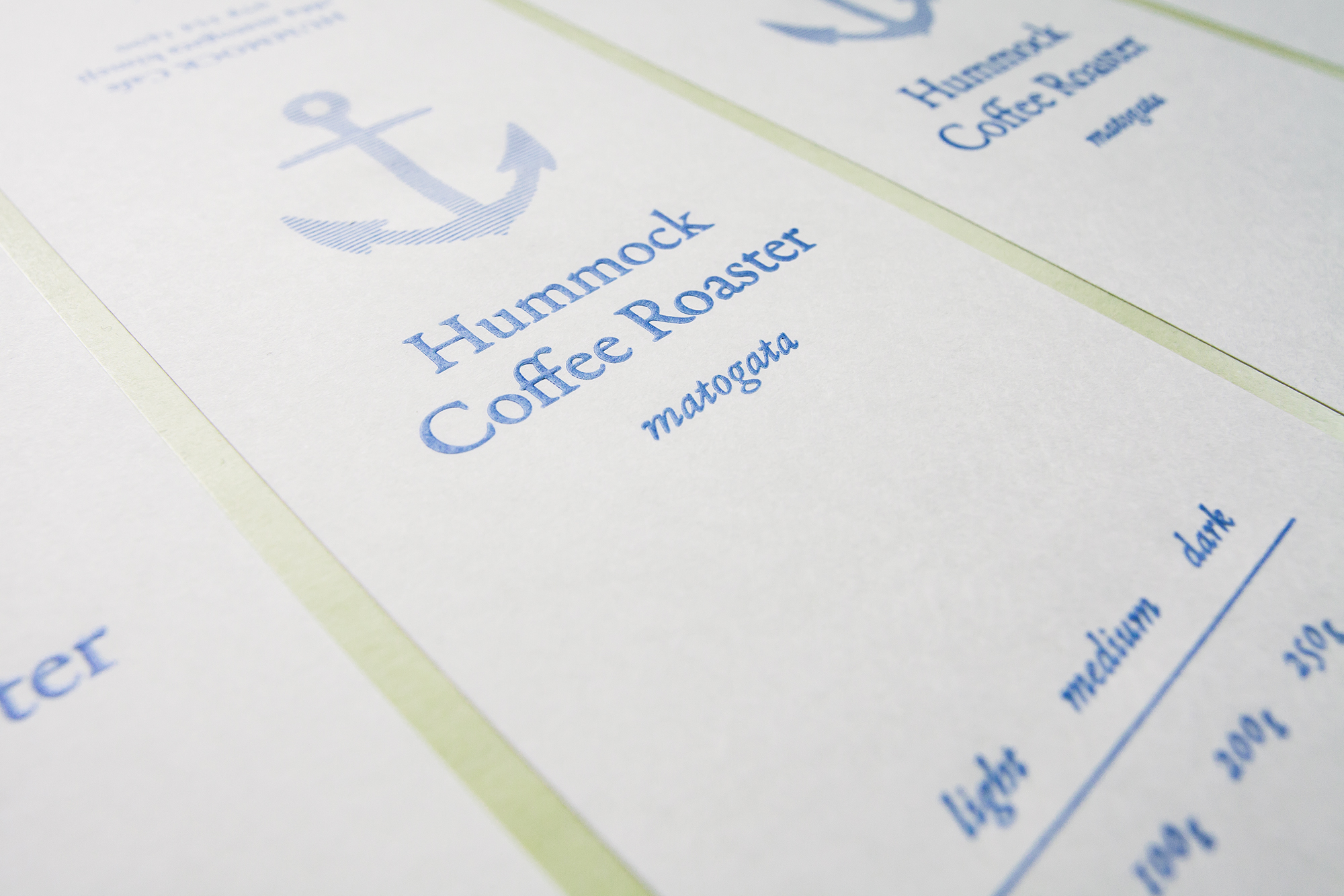 Hummock Coffee Roaster |Label Sticker|パッケージデザイン