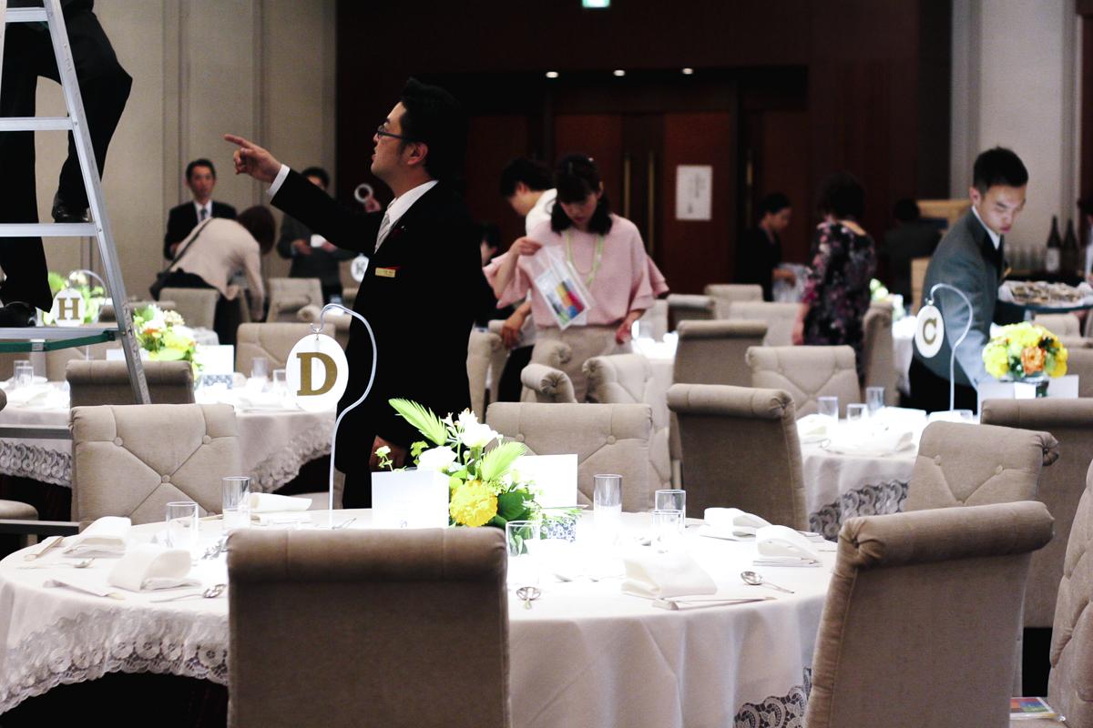 30周年記念パーティー|ホテル会場風景