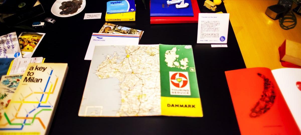 Fruit labels traveler's On The Desk|デルフォニクス 大阪ギャラリー