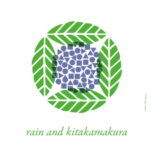 雨、北鎌倉 ロゴシンボル・デザイン