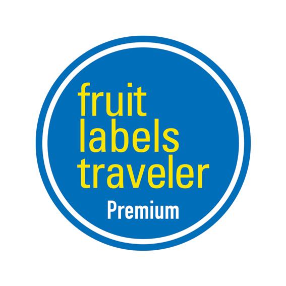 Fruit Labels Traveler 旅するフルーツシール展 オリジナル缶バッジ