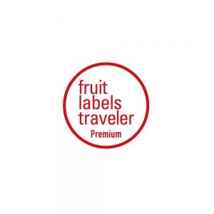 Fruit Labels Traveler 旅するフルーツシール展 缶バッジ