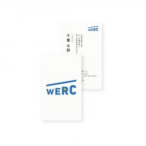 WERC|CIロゴデザイン グラフィックデザイン ブランドデザイン|名刺
