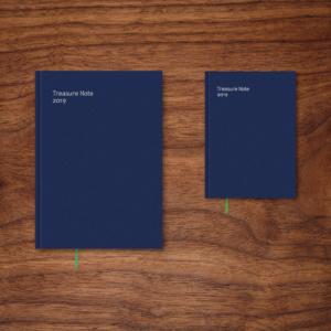 社内ノートブック 2019|装幀・ブックデザイン グラフィックデザイン|東京都千代田区