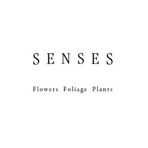 studio SENSES - flowers foliage plants|フラワースタジオ|ロゴデザイン グラフィックデザイン|東京都世田谷