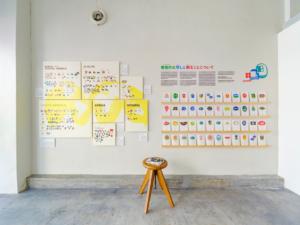 "Art and Design Gallery ""The Hours""|第6回 Fruit Labels Traveler 旅するフルーツシールのデザイン展|宮崎県宮崎市|Photo, Lin Seishi 林 成志"