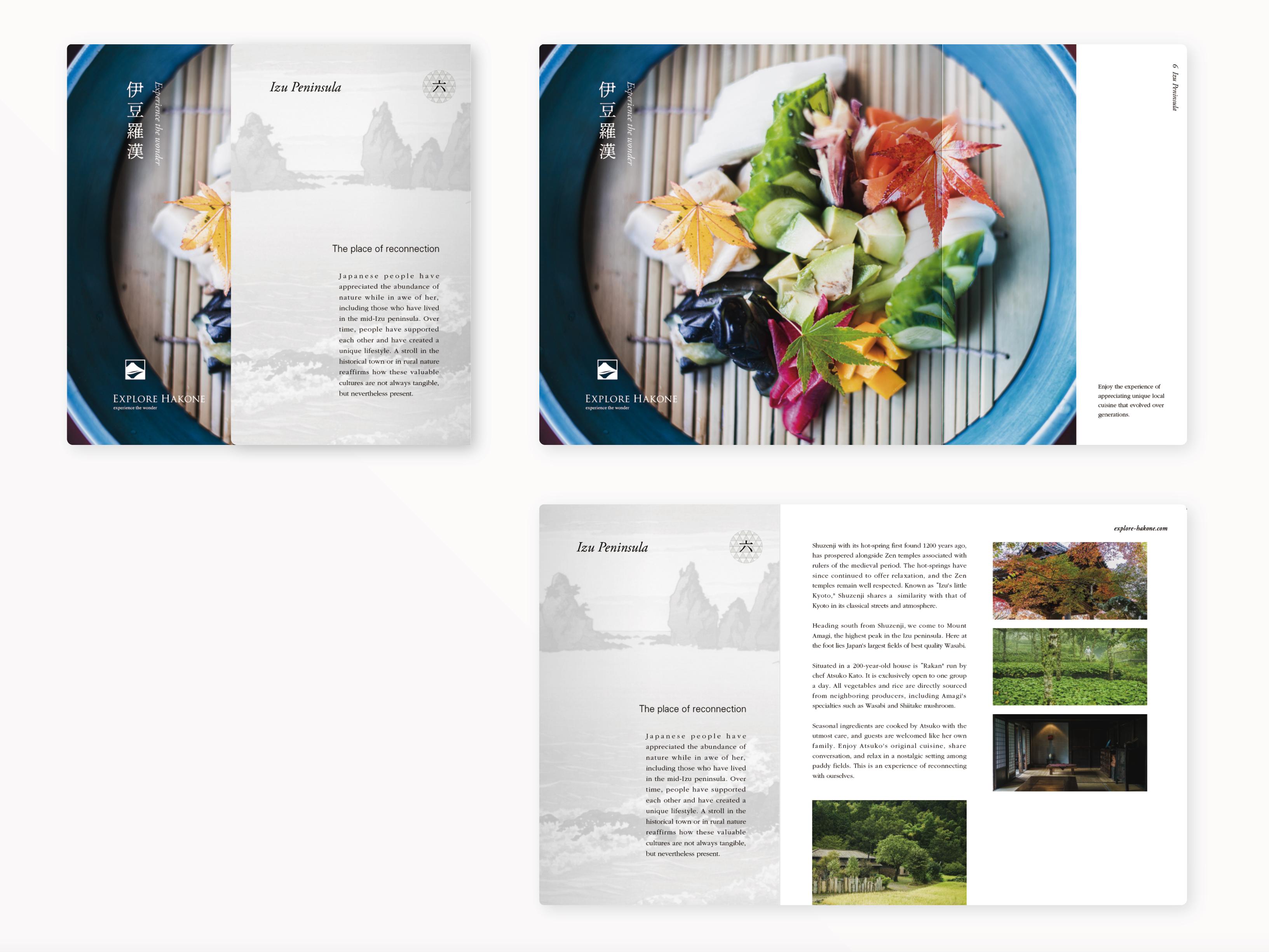 グラフィックデザイン パンフレットデザイン パッケージデザイン 編集エディトリアル 神奈川県 箱根 伊豆