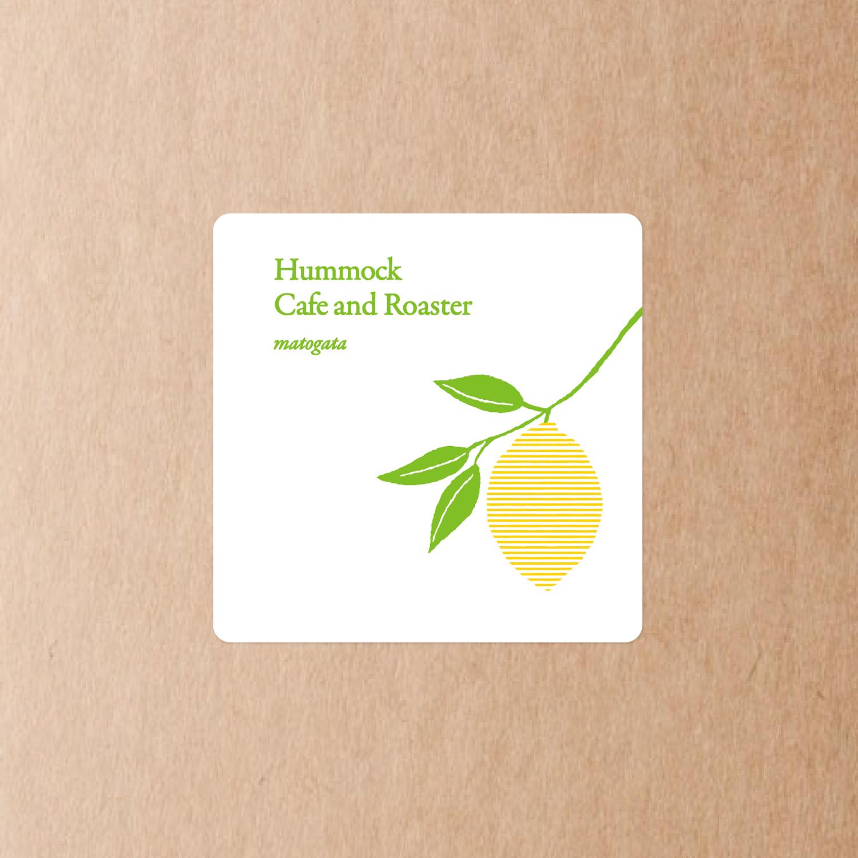 hummock cafe ハンモックカフェ ラベルシール レモン
